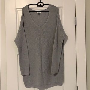 Old Navy knit long sweater